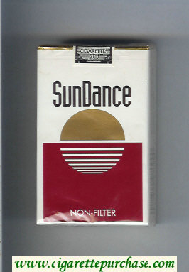 SunDance Non-Filter Cigarettes soft box