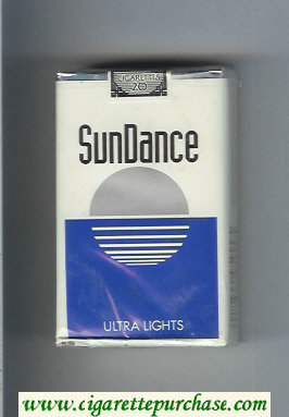 SunDance Ultra Lights Cigarettes soft box