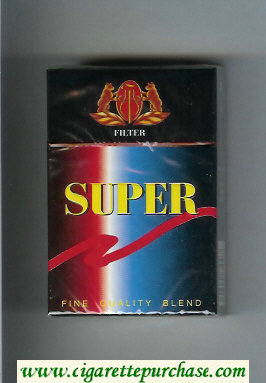 Discount Super Fine Quality Blend Cigarettes hard box