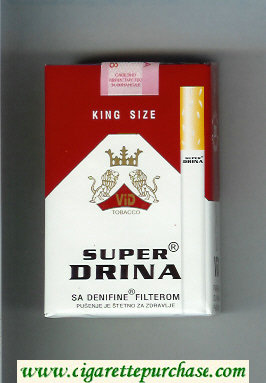 Super Drina Cigarettes soft box