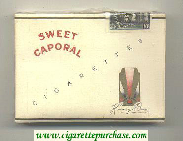 Sweet Caporal Cigarettes 25 hard box