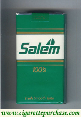 Discount Salem 100s with yacht cigarettes soft box