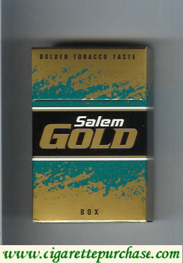 Discount Salem Gold cigarettes hard box