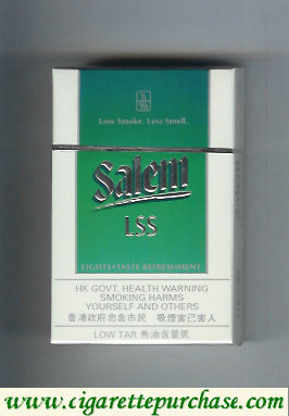 Discount Salem LSS with line cigarettes hard box