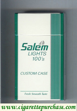 Discount Salem Lights 100s Custom Case with yacht cigarettes hard box