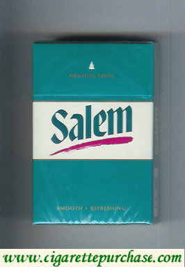 Discount Salem Menthol Fresh with red line cigarettes hard box