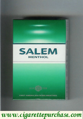 Discount Salem Menthol USA 1956 cigarettes hard box