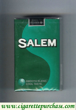 Discount Salem with S cigarettes soft box