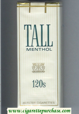 Tall Menthol 120s cigarettes soft box