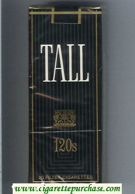 Tall 120s cigarettes soft box