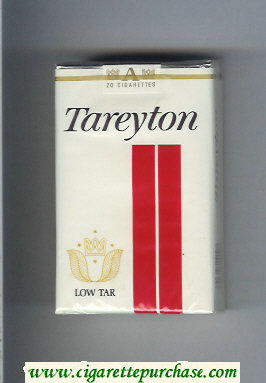 Tareyton Low Tar cigarettes soft box