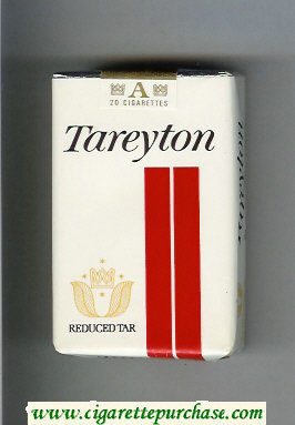 Tareyton Reduced Tar cigarettes soft box