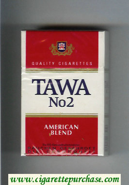 Tawa No 2 American Blend Quality cigarettes hard box