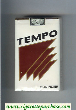 Tempo Non-Filter cigarettes soft box
