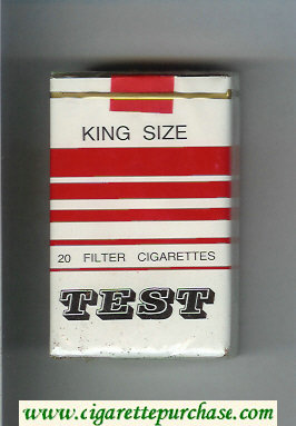Test cigarettes soft box