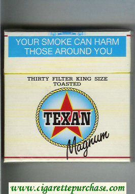 Texan Magnum 30 cigarettes hard box