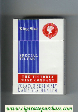 The Victoria Wine Company Special Filter cigarettes hard box