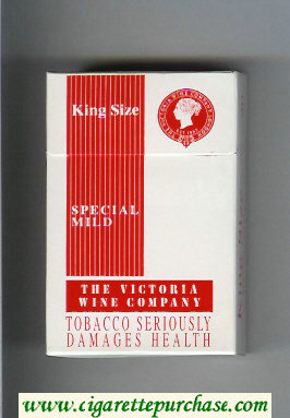 The Victoria Wine Company Special Mild cigarettes hard box