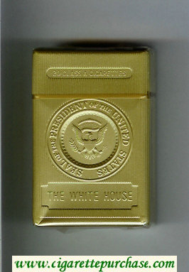 The White House Seal of the President of the United State cigarettes plastic box
