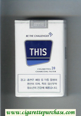This Be the Challenger cigarettes soft box