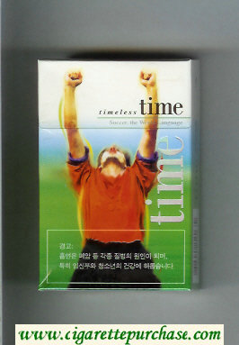 Time Timeless cigarettes hard box