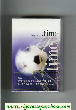 Time cigarettes Timeless hard box