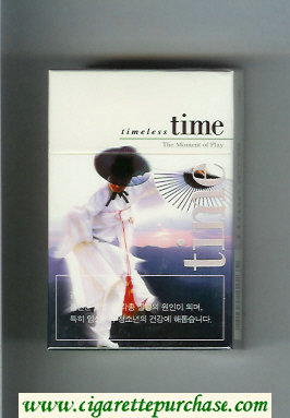 Time cigarettes Timeless hard box The Moment of Play
