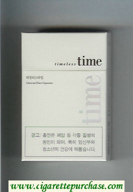 Discount Time Timeless cigarettes hard box