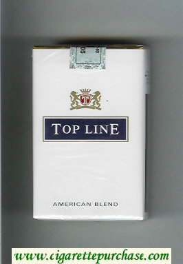 Top Line American Blend cigarettes soft box