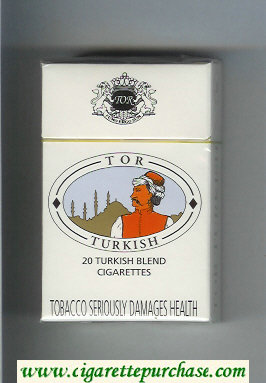 Tor Turkish cigarettes hard box