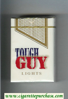 Tough Guy Lights Cigarettes soft box