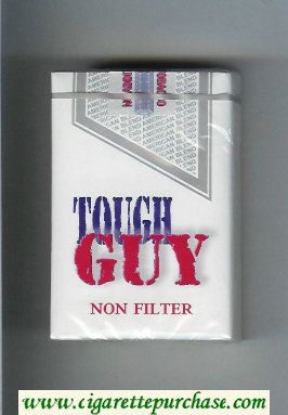 Tough Guy Non Filter Cigarettes soft box
