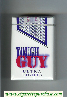 Tough Guy Ultra Lights Cigarettes soft box