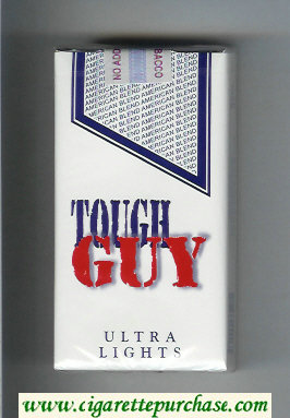 Tough Guy Ultra Lights 100s Cigarettes soft box