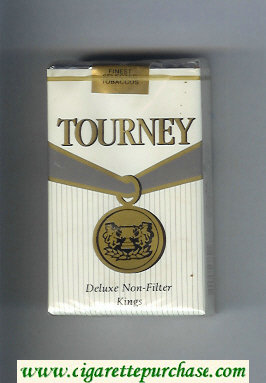 Discount Tourney Deluxe Non-Filter kings Cigarettes soft box