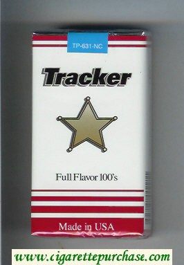 Tracker Full Flavor 100s Cigarettes soft box