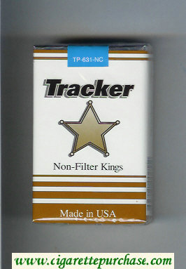 Tracker Non-Filter Kings Cigarettes soft box