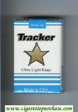 Tracker Ultra Light Kings Cigarettes soft box