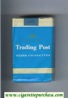 Trading Post 'collection series' Filter Cigarettes soft box