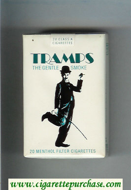 Tramps The Gentle Smoke Menthol Cigarettes soft box