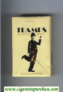 Tramps The Gentle Smoke Cigarettes soft box