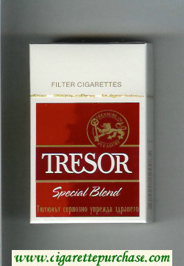 Tresor Special Blend Filter cigarettes hard box