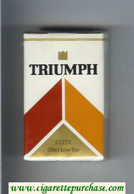 Triumph Filter cigarettes soft box