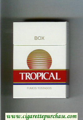 Tropical Box cigarettes hard box