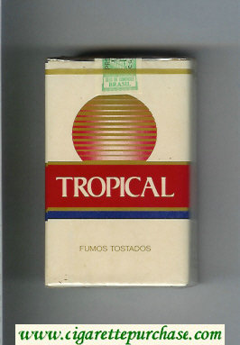 Tropical cigarettes soft box