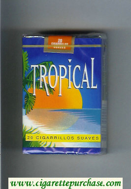 Tropical Suaves cigarettes soft box