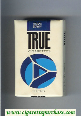 Discount True cigarettes Filters soft box
