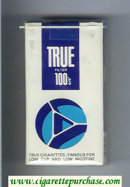 Discount True Filter 100s cigarettes soft box