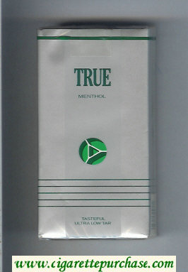 Discount True Menthol 100s cigarettes soft box