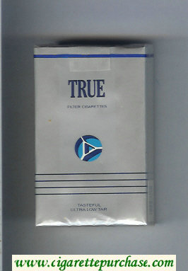 Discount True Filter cigarettes soft box